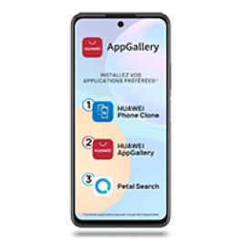 "Smartphone 6.7"" Huawei P Smart 2021 - 128 Go (sans services Google) + Tablette 9.6"" Huawei Mediapad T3"