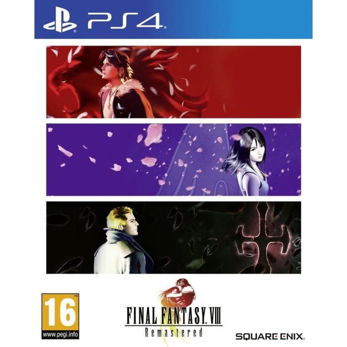 Final Fantasy VIII Remastered sur PS4