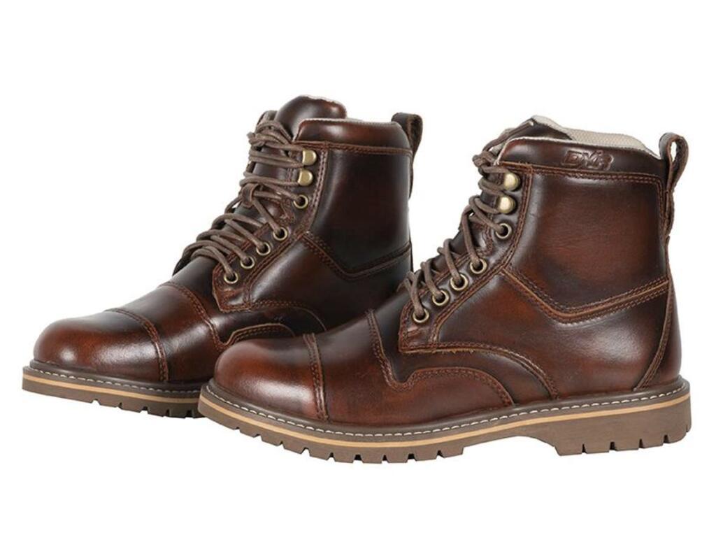 Chaussures de moto DXR Arago - marron ou noir (du 39 au 47). Enfin des chaussures moto classes !