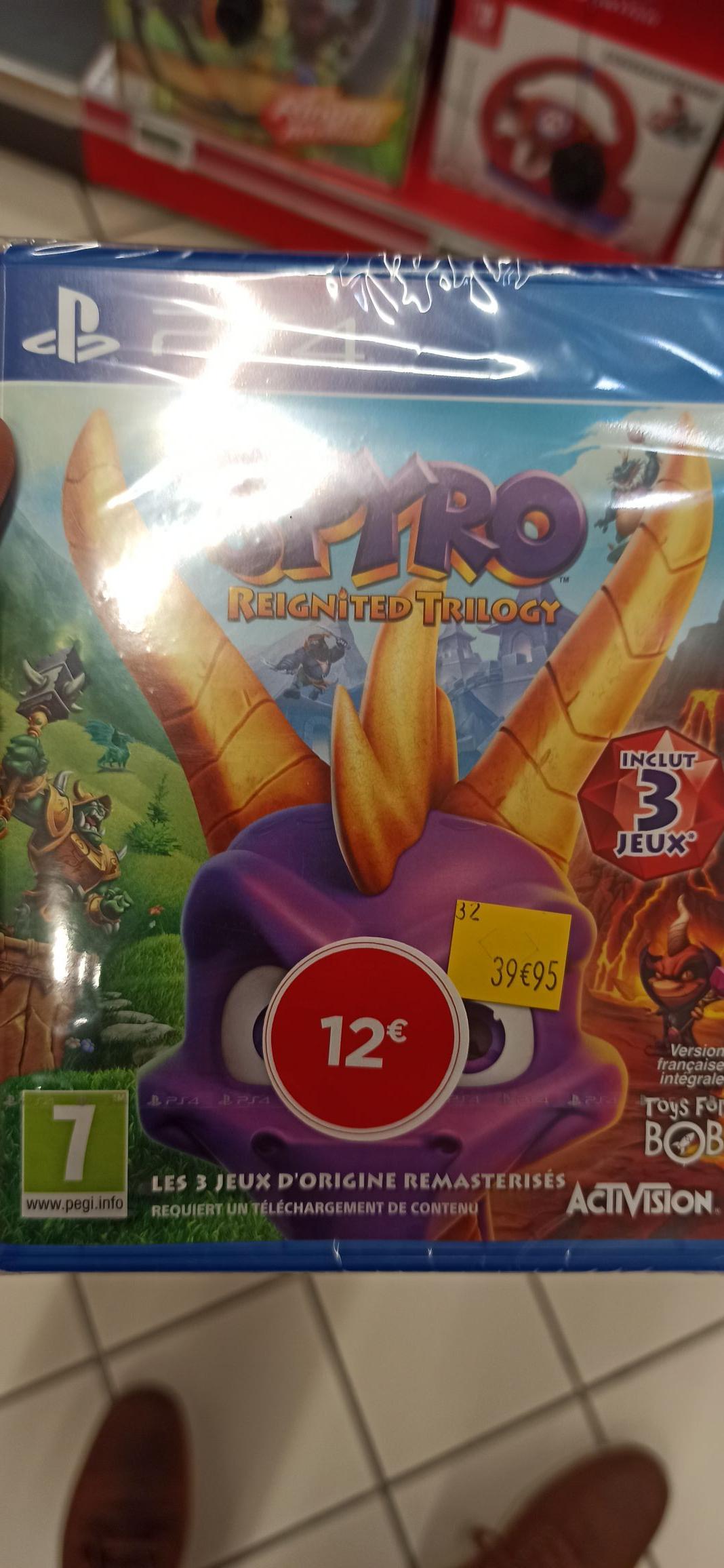 Spyro Reignited Trilogy sur PS4 - Lieusaint (77)