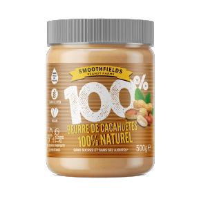 Pot de Beurre de cacahuètes sans sucres ni sel ajoutés - 500 g