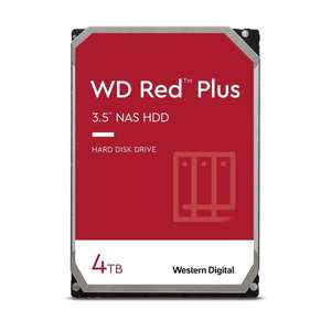 """Disque dur interne 3.5"""" WD Red Plus pour NAS - 4 To, 5400 tr/min, CMR (WD40EFZX)"""