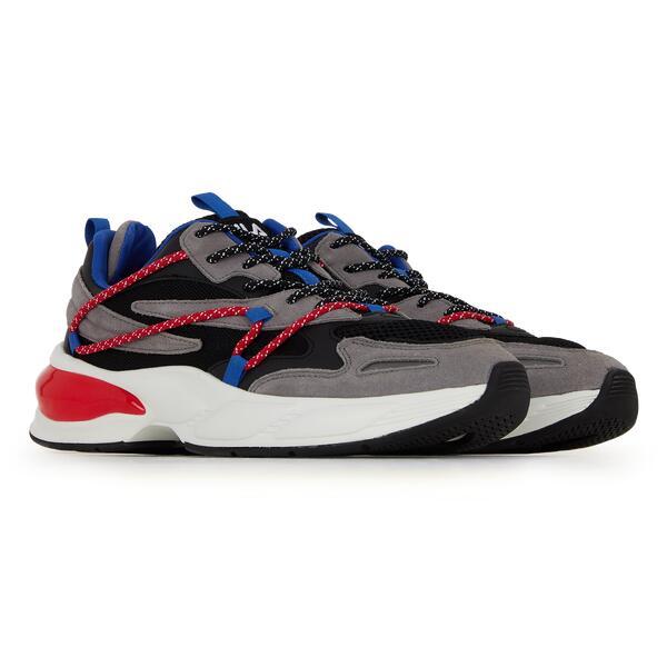 Chaussures Fila Spettro - gris/rouge (du 41 au 45)
