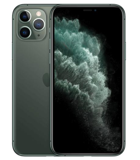 """[Clients Sosh] Smartphone 5.8"""" Apple iPhone 11 Pro - 64 Go, Gris ou Vert"""