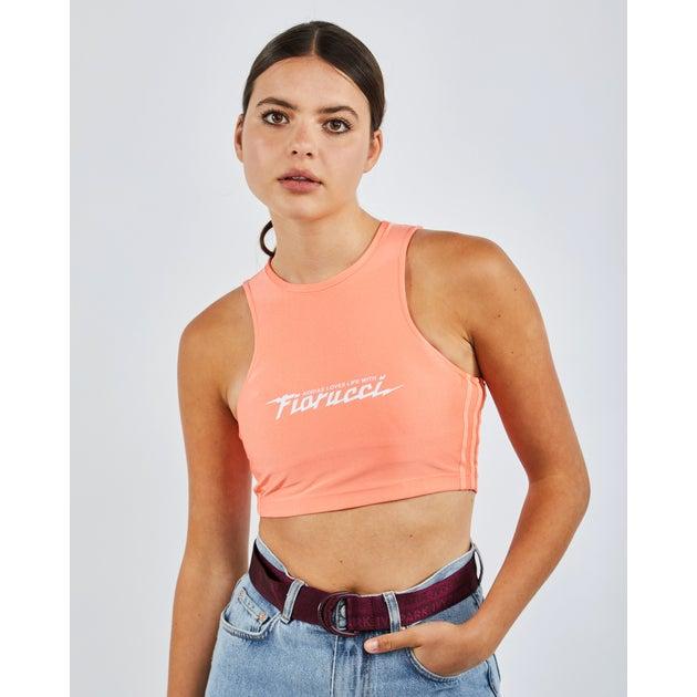 Crop Top Adidas Fiorucci pour Femme (frais de port offert à partir de 29.99€)