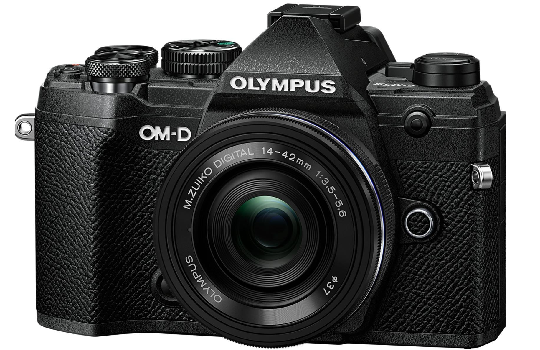 Kit appareil photo hybride Olympus E-M5 MARK III + objectif zoom 14-42mm EZ - Monture micro 4/3, 20.4 MP (Via ODR de 150€)