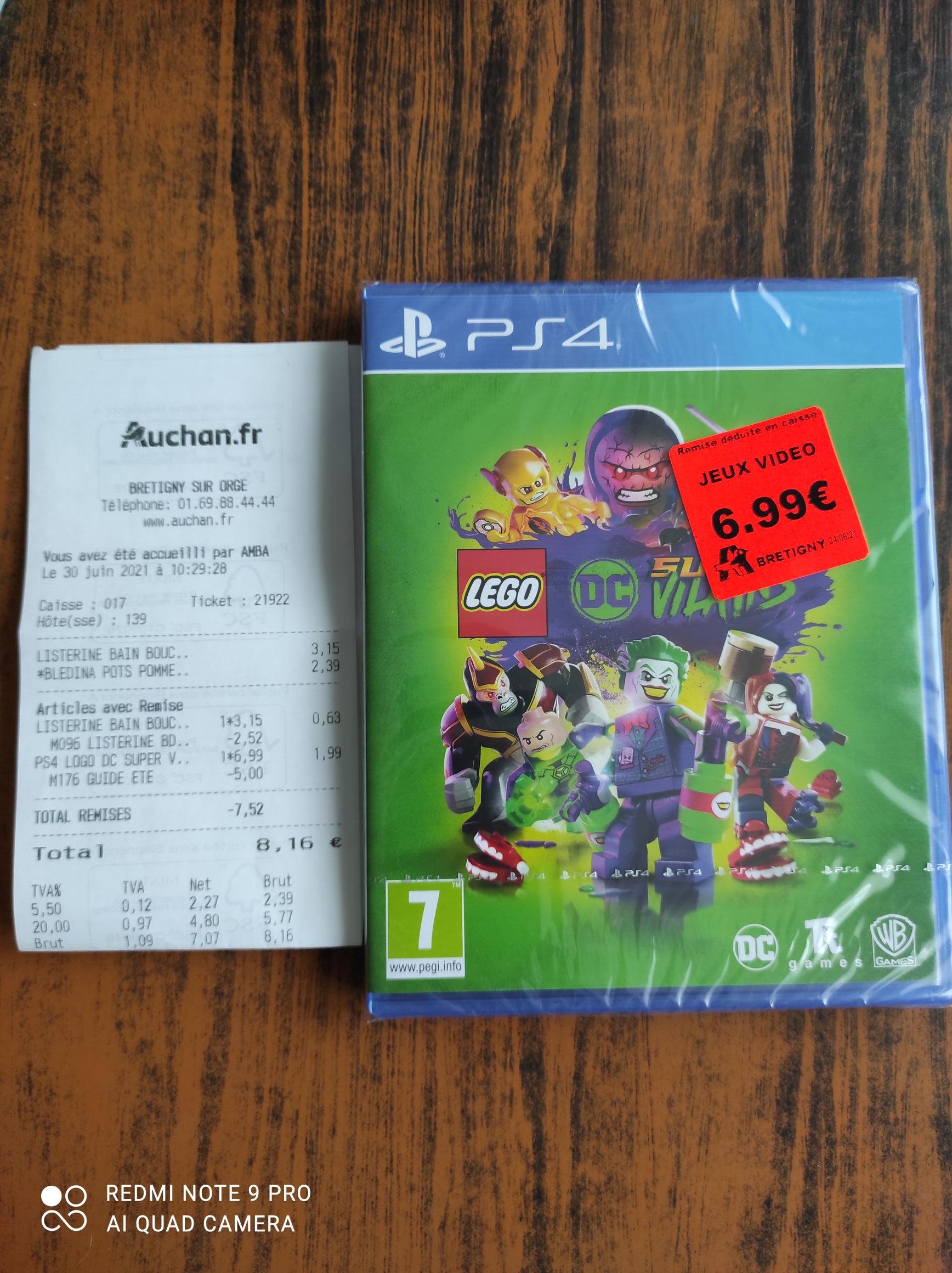 LEGO DC Super-Vilains PS4 - Brétigny-sur-Orge (91)