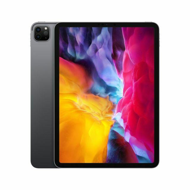 """Tablette 11"""" Apple iPad Pro (2020) WiFi - 512 Go, Gris sidéral avec (service Pack reprise)"""
