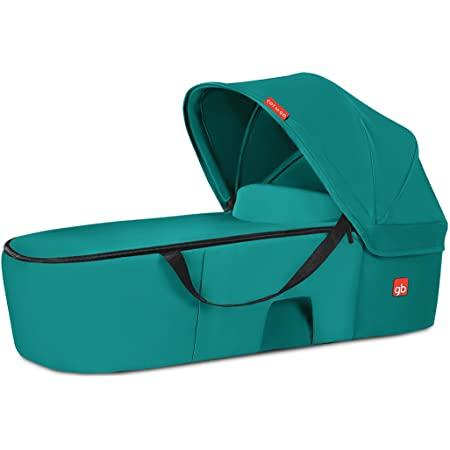 Nacelle bébé GB Cot To Go pour poussette Pockit+ et Qbit+ (bleu/turquoise et rouge)
