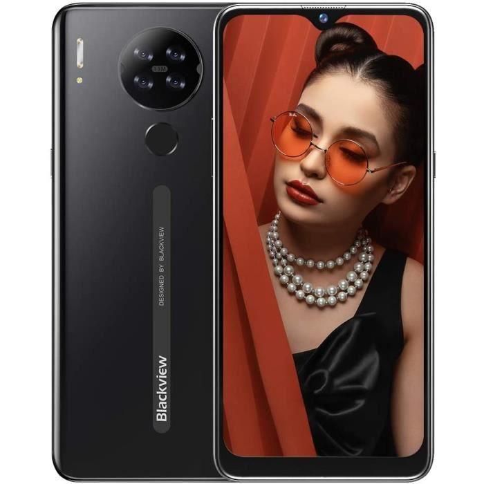 "Smartphone 6.22"" Blackview A80s - 4 Go RAM, 64 Go ROM, noir (vendeur tiers)"