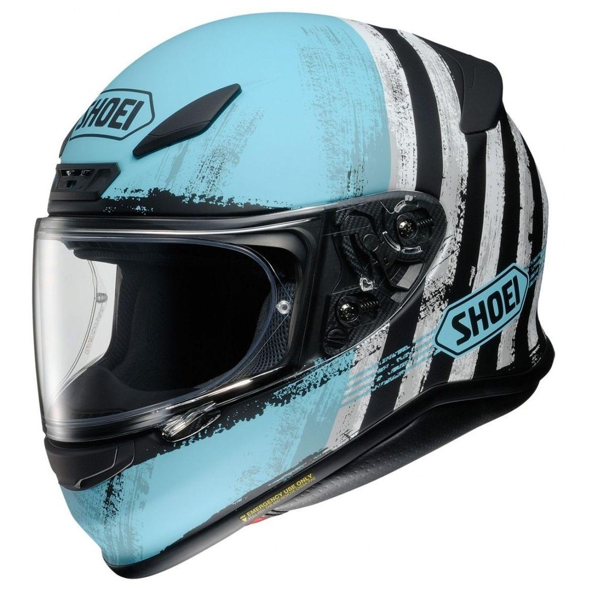 Casque Moto Shoei NXR Shorebreak TC2 - Tailles au Choix