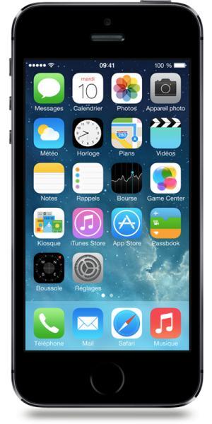 "Smartphone 4"" iPhone 5S - 16 Go, Gris Sidéral (via ODR de 50€)"