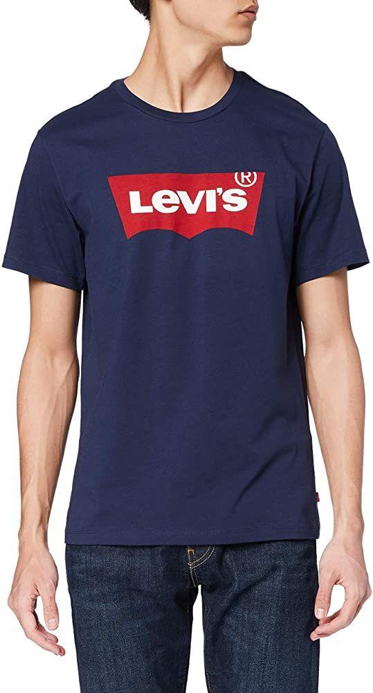 T-Shirt Homme Levi's Graphic Set-in Neck - noir ou gris