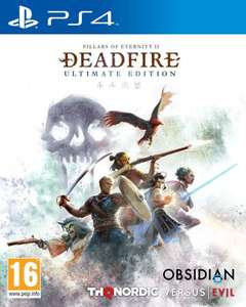 Pillars of Eternity 2 Deadfire Ultimate Edition sur PS4
