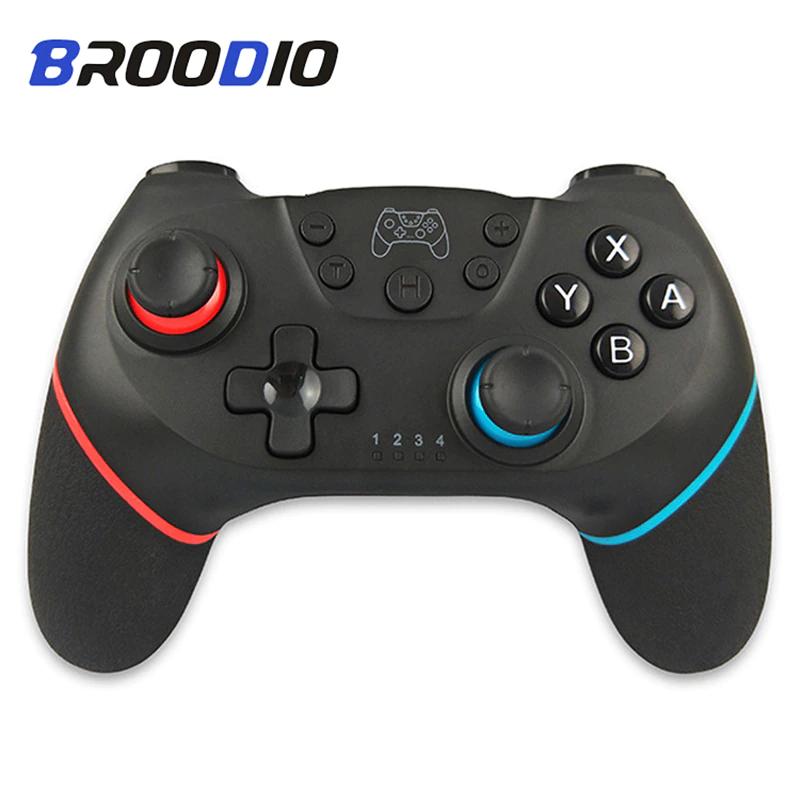 Manette sans-fil Broodio pour Nintendo Switch - Bluetooth (Entrepôt Belgique)