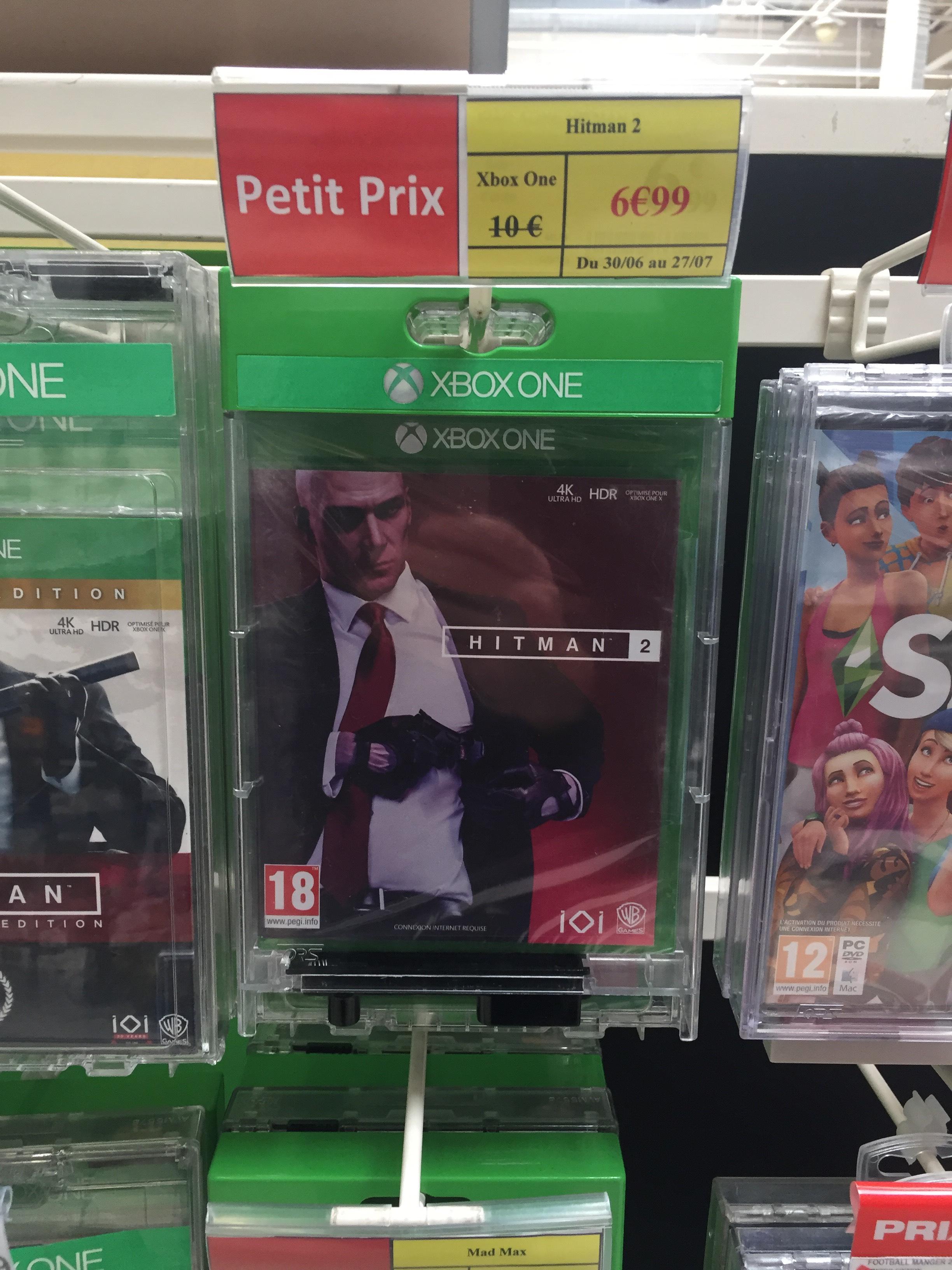 Hitman 2 sur Xbox One - Saint Sébastien Sur Loire (44)