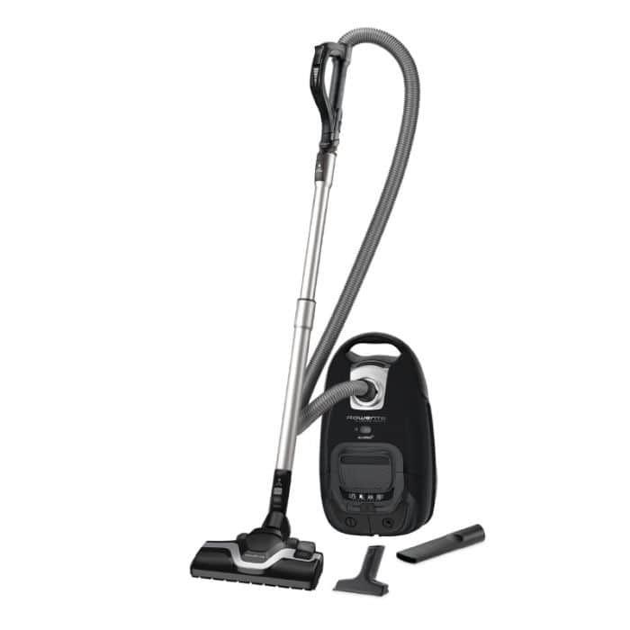 Aspirateur avec sac Silence Force Rowenta RO7455EA - Noir, 2 accessoires