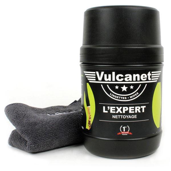 Boîte de 60 lingettes nettoyantes pour auto / moto Vulcanet Compact - Ecully (69)