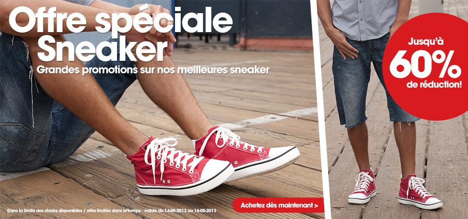 Jusqu'à -60% sur les Sneakers Crocs + 20% supplémentaires