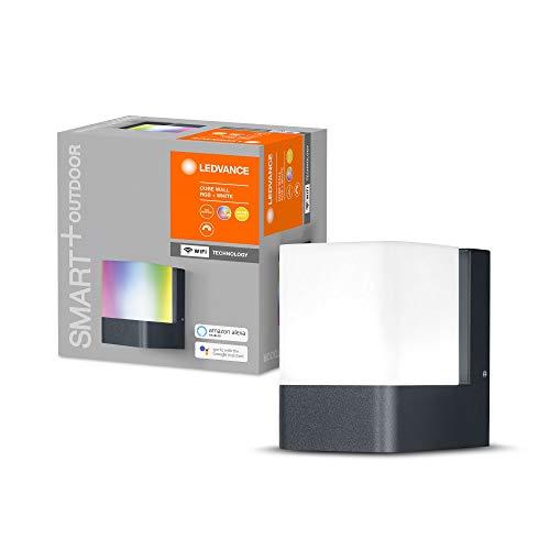 Lampe d'extérieur LED intelligente Ledvance Smart+ - Compatible Google et Alexa