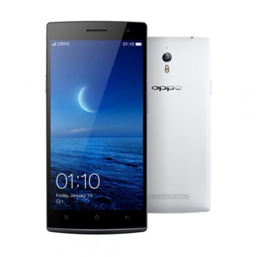 "Smartphone 5.5"" Oppo Find 7a (2 Go de RAM, 16 Go, blanc)"