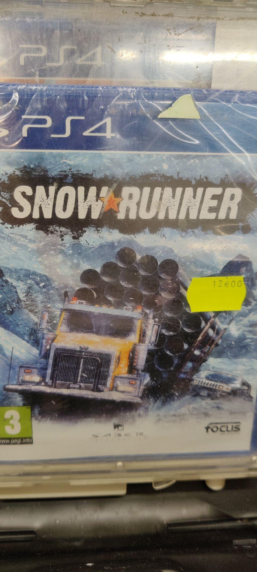 Snowrunner sur PS4 (Saint-Clément-de-Rivière 34)