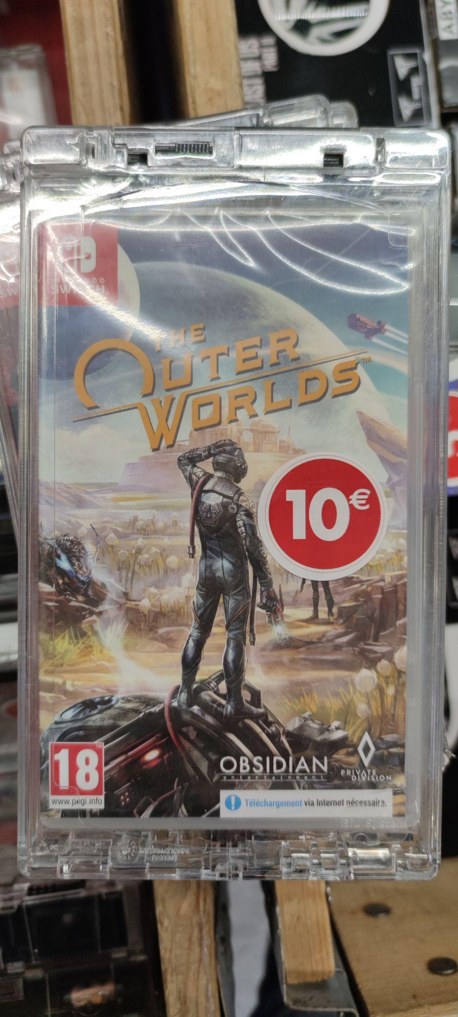 Sélection de jeux vidéo en promotion - Ex : The Outer Worlds sur Switch - Évry-Courcouronnes (91)