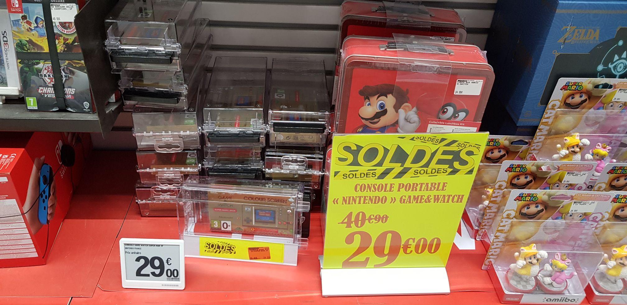 Console portable Nintendo Game & Watch Mario - Thionville (57)