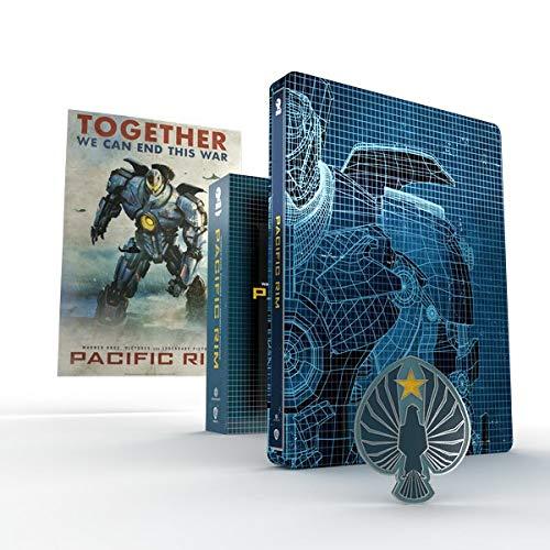 Blu-Ray 4K Pacific Rim Edition Steelbook Titans of Cult