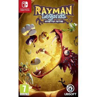 Rayman Legends Definitive Edition sur Nintendo Switch (version boîte avec cartouche)