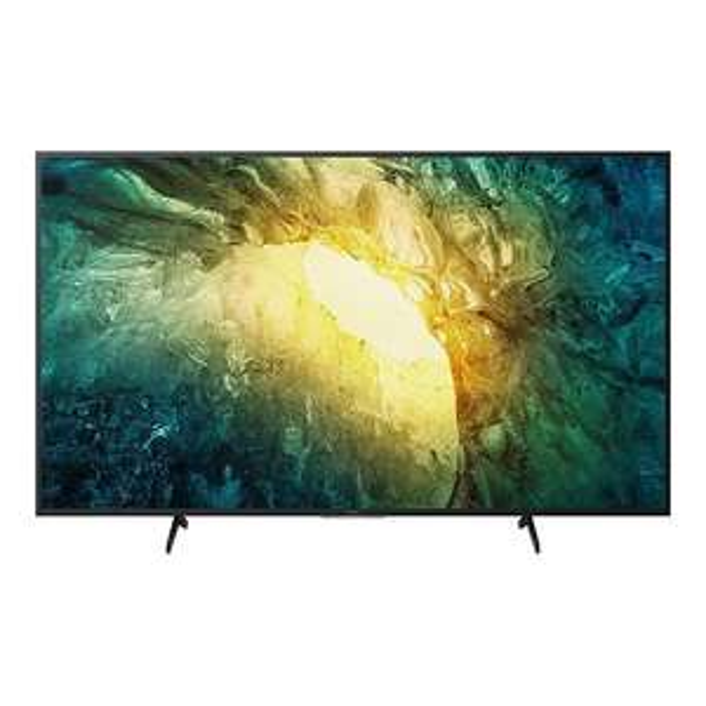 "TV LED 65"" SONY KD-65X7055 - 4K UHD, MotionFlow XR 200, Cinéma HDR, Smart TV"