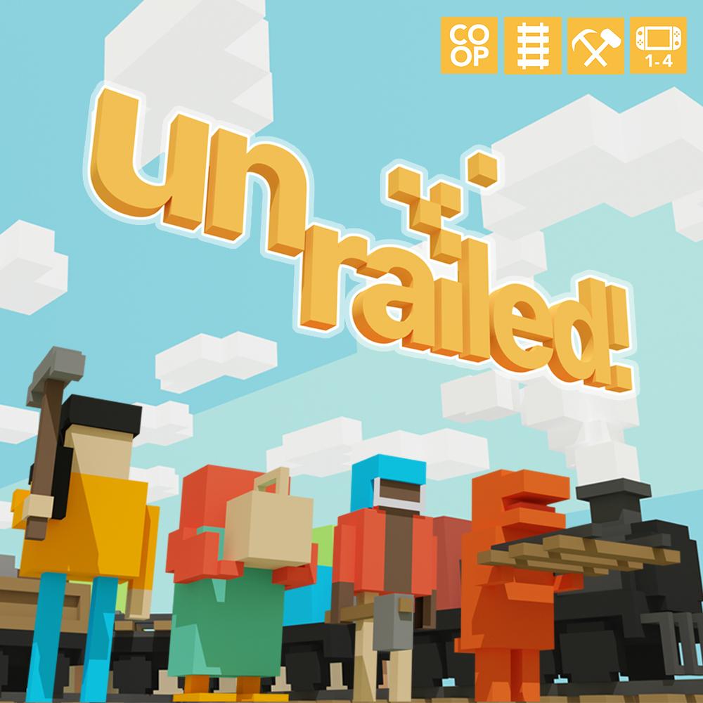 Unrailed sur Nintendo Switch (dématérialisé)