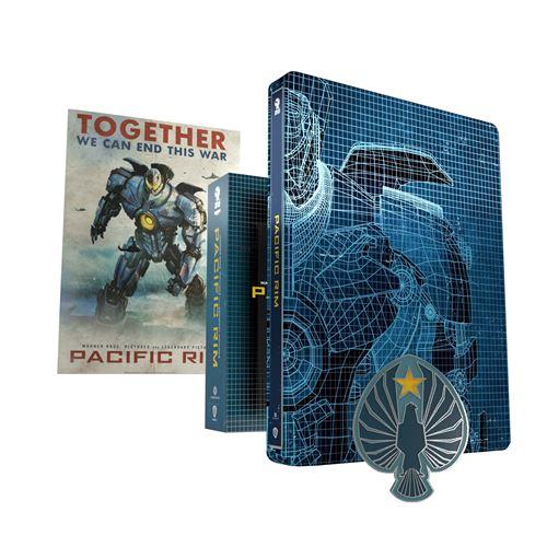 Blu-ray 4K Pacific Rim Steelbook Edition Collector (Sélection de magasins)