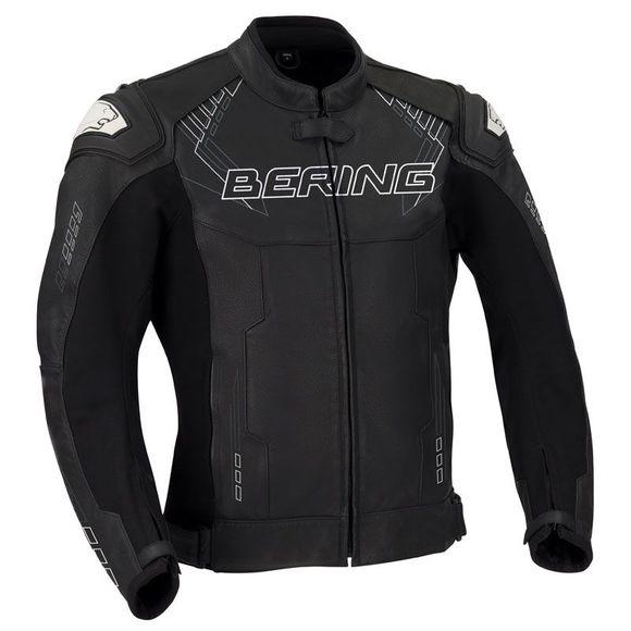 Blouson de moto Bering Hunt-R - noir (tailles S, M ou L)