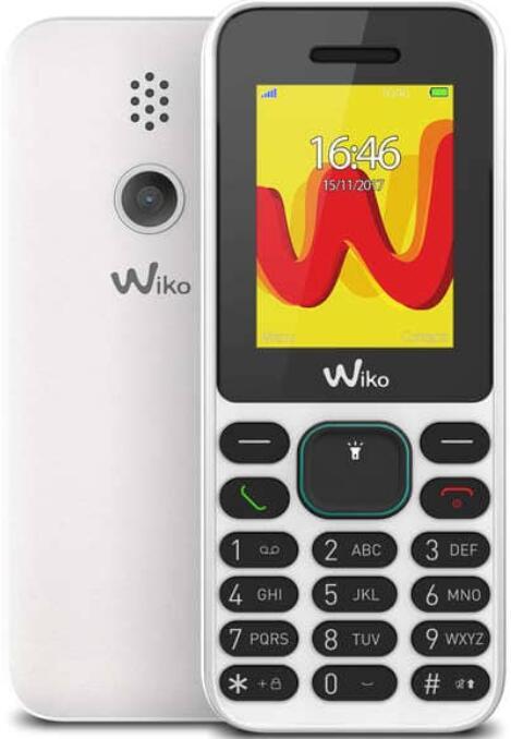 Téléphone Wiko White Lubi 5 (Retrait dans une sélection de magasin)