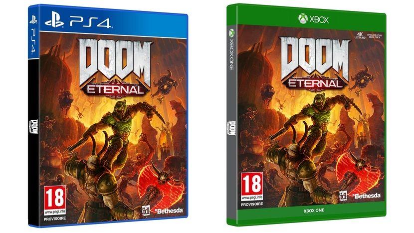 Doom Eternal sur PS4 ou Xbox One