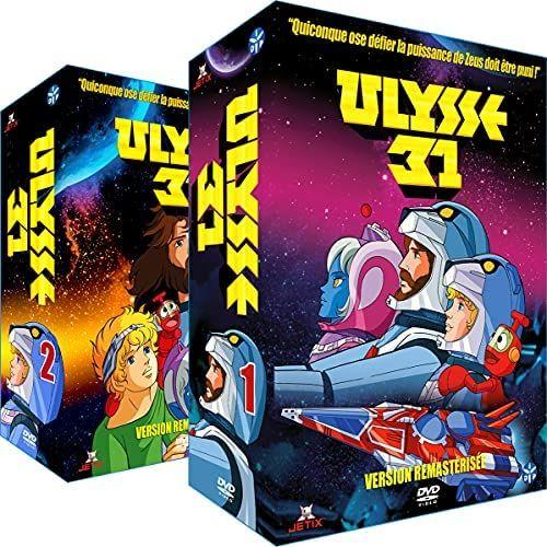 Lot de 2 Coffrets DVD Ulysse 31 Intégrale