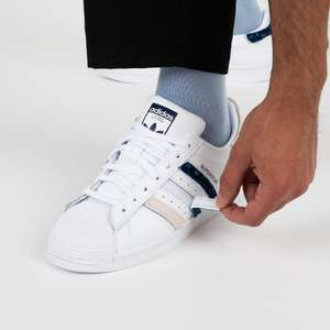 Chaussures homme adidas Superstar velcro - Taille 40 à 46