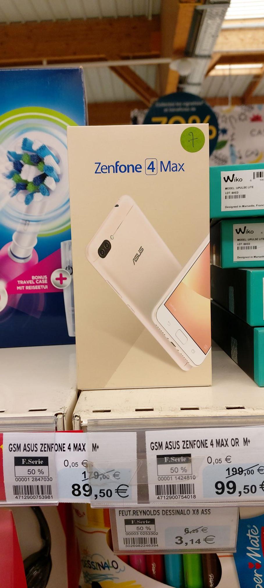 "Smartphone 5.2"" Asus zenfone 4 max or, 32Go - selles sur cher (41)"