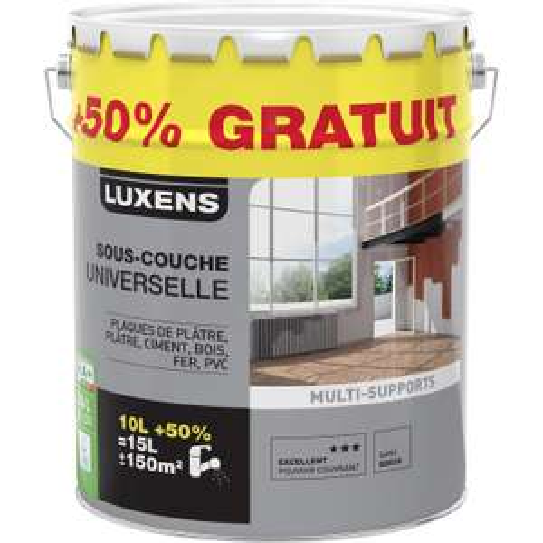 Pot Sous-couche universelle Multi-support Luxens de 15L