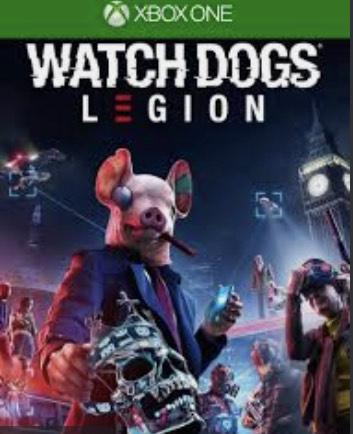 Watch Dogs Legion sur Xbox One - Dématérialisé (TVA incluse)