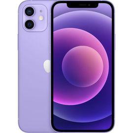 """Smartphone 6.1"""" Apple iPhone 12 - full HD+, A14, 4 Go de RAM, 128 Go, Mauve (748€ via RAKUTEN30 +77.80€ en Rakuten Points)"""