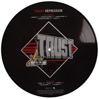 Vinyle Trust Répression Picture Disc