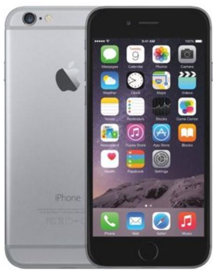 "Smartphone 4.7"" Apple iPhone 6 - 128 Go, gris"