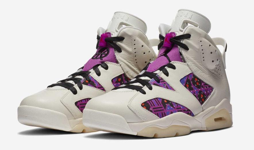 Baskets Nike Air Jordan 6 Retro Quai 54 Alternate pour Hommes - Tailles au choix (shinzo.paris)