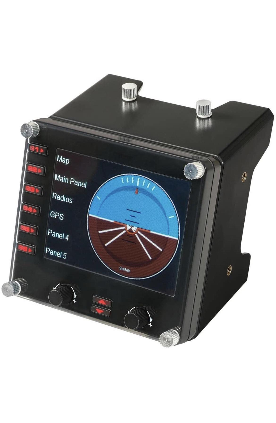 Tableau de bord pour simulateur de vol Instrument Panel Logitech G Saitek Pro Flight