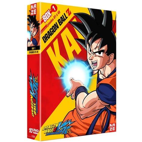 Sélection de coffrets DVD Dragon Ball Z Kai en promotion - Ex: Saison 1 - Box 1 (via 41.99€ sur la carte fidélité)