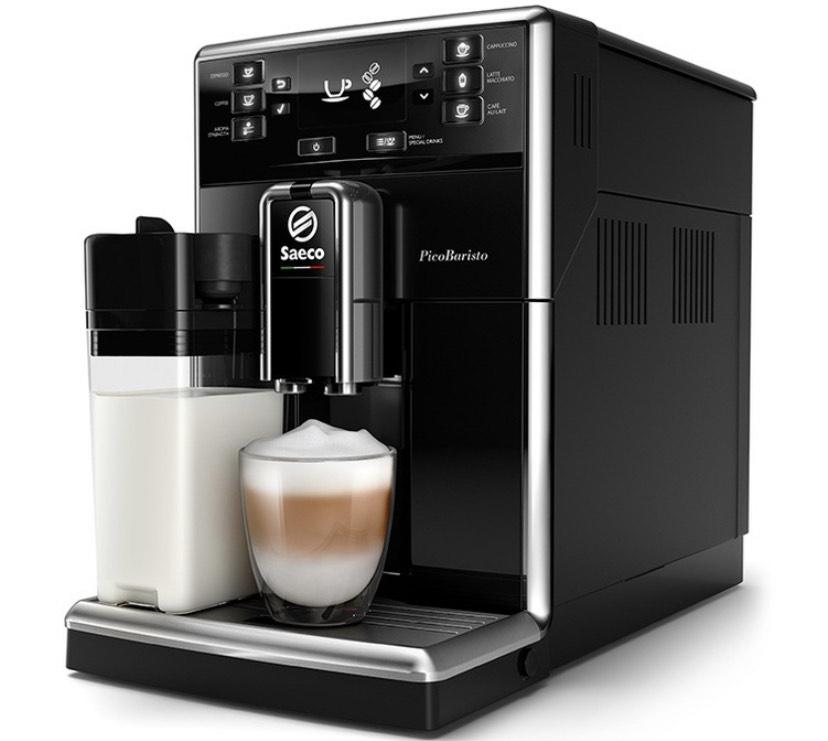 Machine à expresso automatique Saeco PicoBaristo SM5460/10 Black OneTouch Startpack + 10€ offerts en Bon d'achat