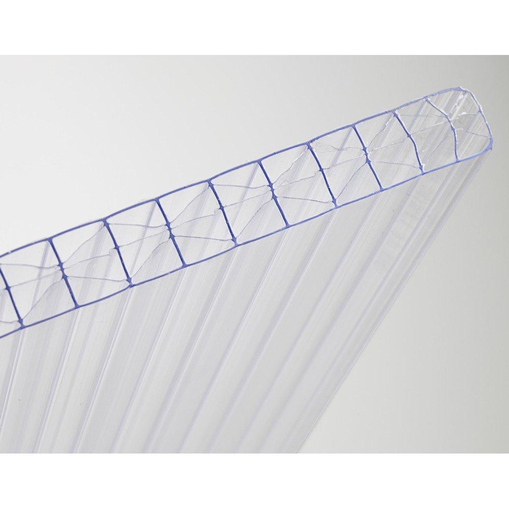 Plaque de polycarbonate - 3m x 0,98m en 16mm