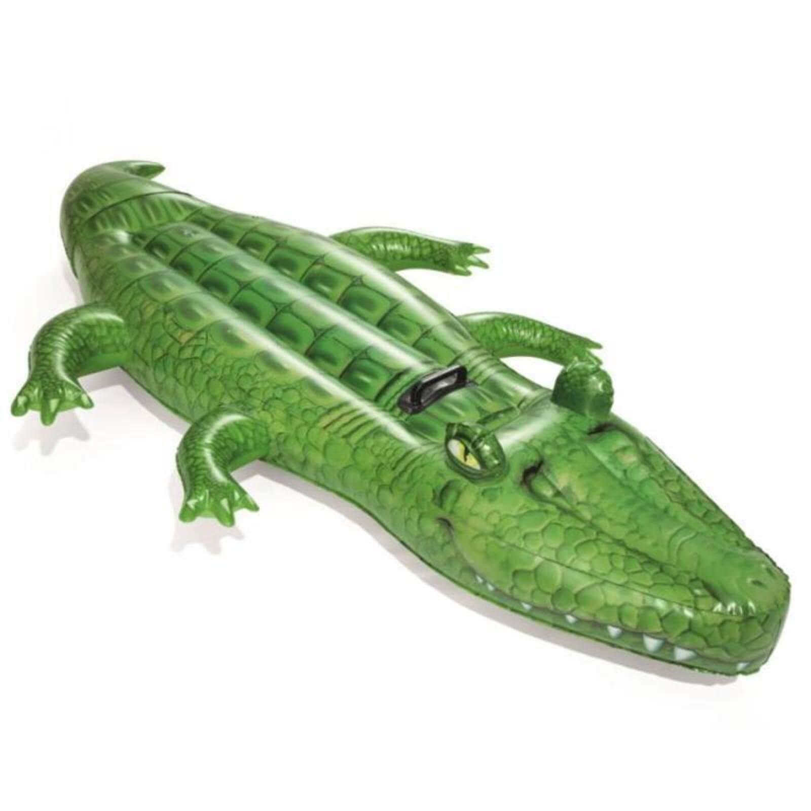 Bouée gonflable Bestway Crocodile - 2,03 x 1,17 m / Bouée gonflable Bestway Orc - 2,03 x 1,02 m
